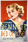 Postv Photos - Bed Of Roses, Constance Bennett, 1933 by Everett