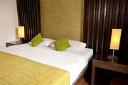 Hotel Photo Prints - Bed Room Print by Atiketta Sangasaeng