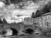 Gtjeddah Prints - Beddgelert Village 2 Print by Graham Taylor