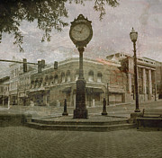 Virginia Greeting Cards Posters - Bedford Town Center  Poster by Christopher  Ward