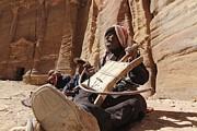 Bedouin Musician Print by Dave Eitzen