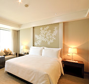 Pillow Photos - Bedroom In The Morning by Setsiri Silapasuwanchai