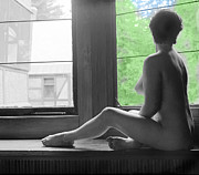 Sitting Originals - Bedroom Window by Jan Faul