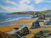 Cornwall Originals - Bedruthan Steps by Andrew Read