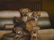 Puppies Originals - Bedtime by Kirk Graham
