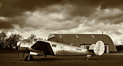 Richard Allen Framed Prints - Beechcraft 18 Expeditor Framed Print by Richard Allen