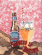 Samuel Originals - Beer from a bottle no.6 by Connie Valasco