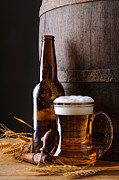 Beer Photo Posters - Beer still life Poster by Christian Draghici
