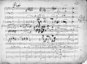 Music Score Photos - Beethoven: Ghost Trio by Granger