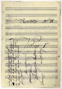 Beethoven Manuscript, 1799 Print by Granger
