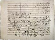 Ludwig Photos - Beethoven Manuscript by Granger