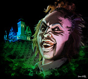 Michael Posters - Beetlejuice Beetlejuice Beetlejuice Poster by Brett Hardin