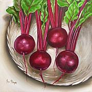 Ilse Kleyn Metal Prints - Beetroot Metal Print by Ilse Kleyn