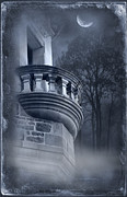 Ghost Castle Prints - Before 3am Print by Svetlana Sewell