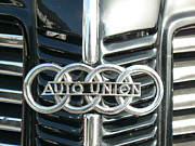 Logos Prints - Before Audi was Audi Print by Tammy Forristall