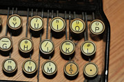 Typewriter Keys Framed Prints - Before Microsoft Word Framed Print by Carl Purcell