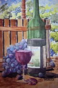 Wine-press Framed Prints - Before n after Framed Print by W R  Hersom