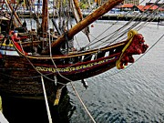 Wooden Ship Photo Posters - Before Setting Sail Poster by Douglas Barnard