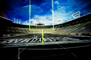 Lambeau Field Art - Before The Big Game by Lawrence Christopher