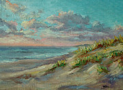 Cape Cod Paintings - Before The Crowds by Barbara Hageman