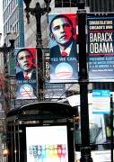 Barack Obama Art - Before the heavy lifting begins by David Bearden