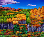Aspen Western Paintings - Before the Snowfall by Johnathan Harris