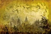 Nature Scene Mixed Media Prints - Before The Storm Print by Dariusz Gudowicz
