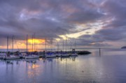 Sailboat Ocean Photos - Before The Storm by Larry Whiting