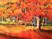 Autumn Landscape Mixed Media - Before Winter by Cynthia Roudebush