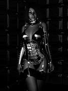 Latex Prints - Beg for Mercy BW Print by Alexander Butler