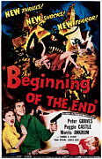 1957 Movies Photo Prints - Beginning Of The End, Peggie Castle Print by Everett