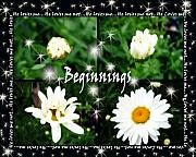 Beginnings Prints - Beginnings  Print by Cathy  Beharriell