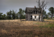 Haunted House Photos - Behind the Front Door by Fred Lassmann