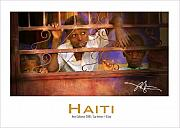 Haiti Framed Prints - Behind The Iron Gate-poster- Framed Print by Bob Salo