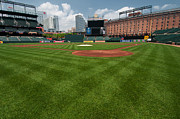 Oriole Park Prints - Behind the Plate Print by Paul Mangold