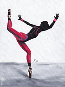 Dancer Prints - Beijing Print by Katia Zhukova