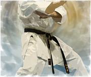 Being A Black Belt Print by Deborah Lee