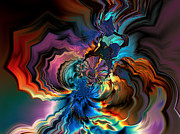 Digital Abstract Digital Art - Being transformed by Claude McCoy