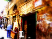 Urban Landscape Art Prints - Beirut Basta Street  Print by Funkpix Photo  Hunter