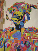 Fairs Paintings - Bejewelled Courtesan II by Jennifer Gabbay