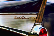 Red Chevrolet Prints - Bel Air Print by Scott Norris