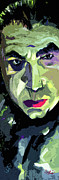 Dracula Paintings - Bela Lugosi Dracula Portrait by Ginette Fine Art LLC Ginette Callaway