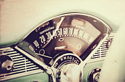 Speedometer Framed Prints - Belair Dashboard Framed Print by Joel Witmeyer