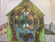 Belfast Mural Print by Brett Genda