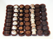 Chocoholic Photos - Belgium chocolates  by Amos Dor