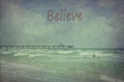 Believe Print by Judy Hall-Folde