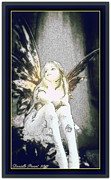 Fairy Art For Sale Framed Prints - Bell Fairy  Framed Print by Danielle  Parent