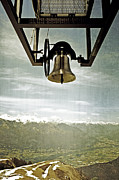 Snow-covered Landscape Metal Prints - Bell In Heaven Metal Print by Joana Kruse