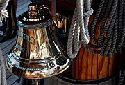 Bell On Schooner Virginia Print by Gene Sizemore