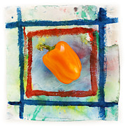 Pepper Prints - Bell Pepper  Print by Igor Kislev